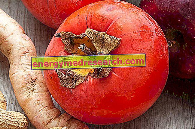 Luonnollinen laksatiivinen persimoni