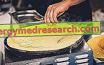Krepler: Reçete, Varyasyonlar, Videolu Tarifler, Beslenme Özellikleri ve R. Borgacci'nin Diyetinde Kullanımı