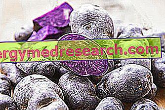 Purpura kartupeļi: barības īpašības, loma diētā un R.Borgacci gatavošana