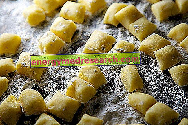 Gnocchi và khoai tây