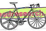 Рамката на състезателния велосипед