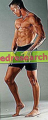 Korrekt näring för att hålla mager