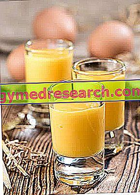 Kiaušinių-vyno kokteilis