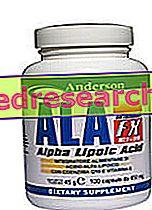 ALA FX - Anderson - Ácido alfa lipóico