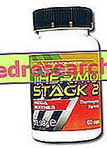 Stack ir termogeniniai papildai