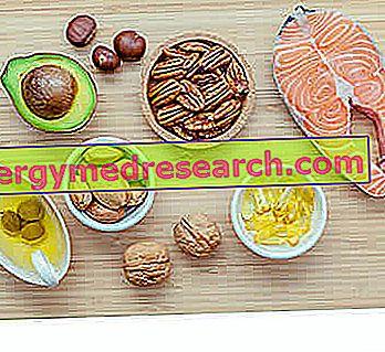 खाद्य पदार्थों में आवश्यक फैटी एसिड