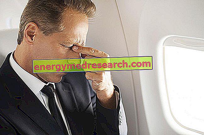 Bolesť hlavy z lietadla: príčiny
