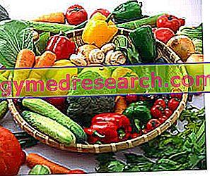 सब्जी - पौष्टिक गुण